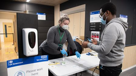 Covid-19/coronavirus tests in Islington
