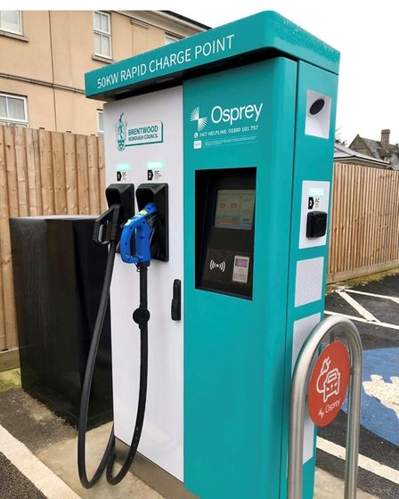 Brentwood Borough Council launches new EV chargers at the Town Hall