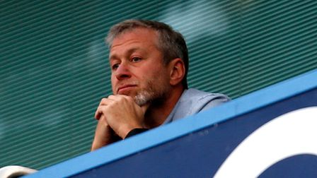 Chelsea owner Roman Abramovich during the Barclays Premier League match at Stamford Bridge, London.