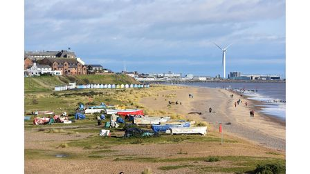 Lowestoft in lockdown. These photos capture the third national lockdown with people heading out for their allotted daily exercise with strolls onthe beach at Pakefield.