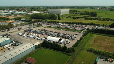 Wisbech is one of Copart's 15 vehicle storage and processing centre sites around the UK