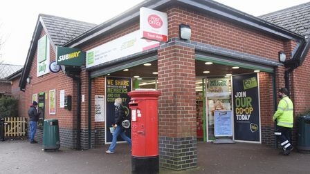 The West Earlham Post Office at the Co-Op on Earlham Green Lane. Picture: DENISE BRADLEY