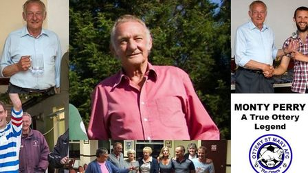 Monty Perry, a legend of Ottery St Mary