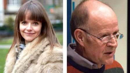 South Molton daughter and father poets Sarah Westcott and retired GP Richard Westcott