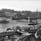 A photograph from around 1890 showing a stretch of the Seine
