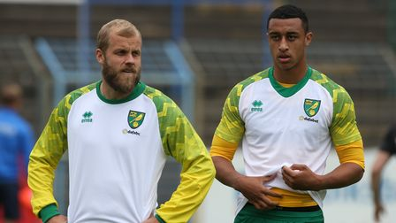 Teemu Pukki and Adam Idah are back in training for Norwich City after lay offs ahead of Middlesbrough's Championship visit