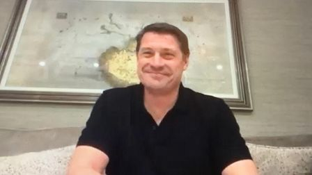 Former West Ham and Everton star Tony Cottee