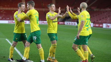 Norwich City look on the right track in their quest to win promotion back to the Premier League. Pic
