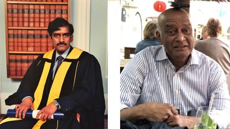Mr Ratnakumar worked for the NHS for 39 years before retiring in February 2020.