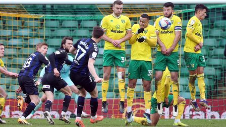 Grant Hanley was a dominant figure in Norwich City's 0-0 Championship draw against Middlesbrough