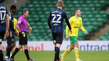 EmiBuendia's latest red card for Norwich City means he misses the next two Championship games