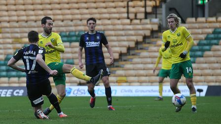 Mario Vrancic had one of Norwich City's best chances in the first half of a goalless Championship draw against Middlesbrough
