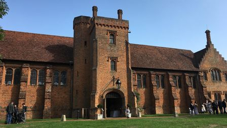 The Old Palace at Hatfield House. Picture: Alan Davies.