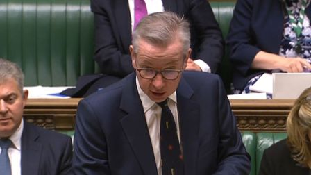 Cabinet Office Minister Michael Gove making a statement to MPs in the House of Commons. Photograph: