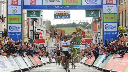Surrey to host penultimate stage of The Tour of Britain 2013 from Epsom to Guildford