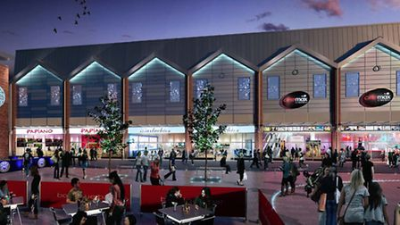 The proposed new Pillar & Lucy Square Cinema