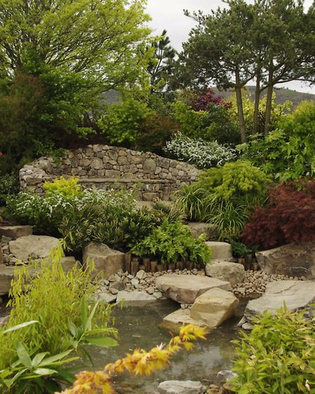 Garden designed and planted by the Howle Hill Nursery team