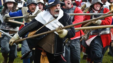 Sealed Knot English Civil War re-enactment at Newbury