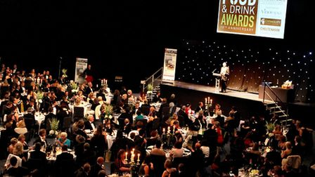 Over 400 guests enjoy the evening at the Centaur in 2012