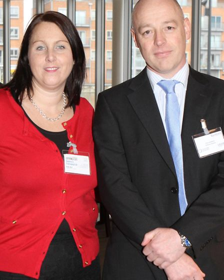 Kirsty Muir from Business and Professional Life with Chris Goddard from Collision Science