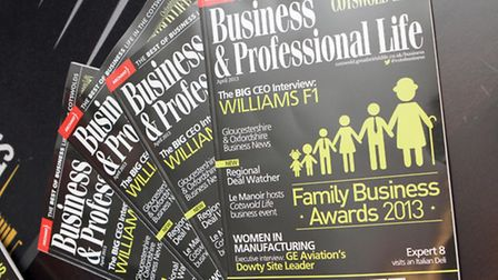 Business and Professional Life magazines