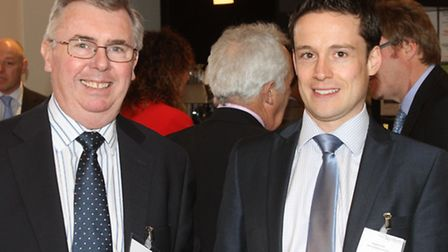 Paul Horner and Robert Croft from Gerry Dupree and Co