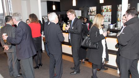 General view of drinks reception