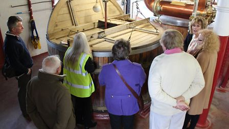 CLA members learnt the art of beer making on a trip to Hook Norton Brewery