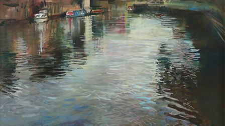 'Tewkesbury Reflection' by Rob Pointon