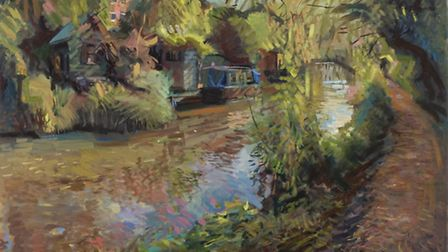 'The Canal in Oxford, Autumn' by Rob Pointon