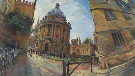 'The Radcliffe Camera, Oxford' by Rob Pointon