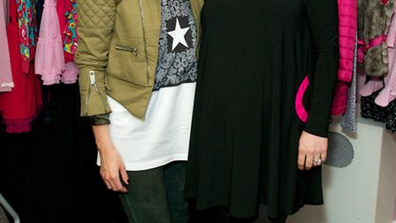 Sheree Murphy and Coleen at Cool Candy