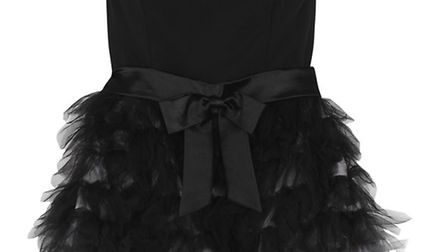 This stunner, £230 from Ruby Ray, shows that sometimes rara-layered netting and a bow are just what