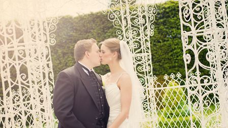 Marc and Jen at Arley Hall Photography: Rob Berry