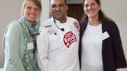 Sasha Stead, Michael Caines and Tamsel Hirst