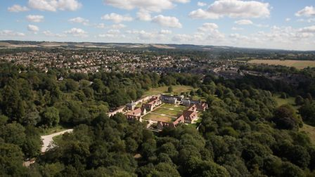 Maidstone from above