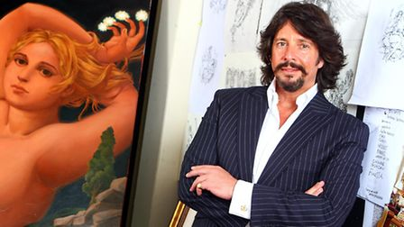 Laurence Llewelyn-Bowen at his offices in Cirencester