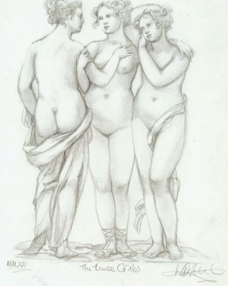 'The Three Graces' by Laurence Llewelyn-Bowen
