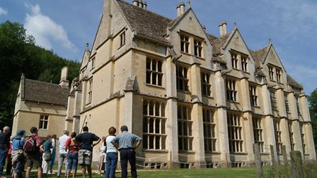 Woodchester Mansion, near Stroud