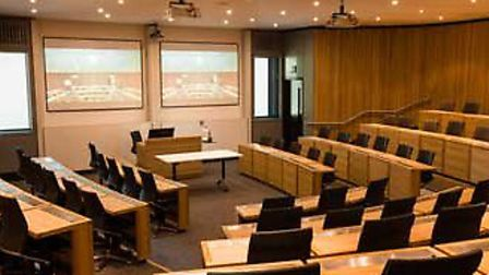 Lecture Theatre, The West Wing, Sad Business School, Oxford
