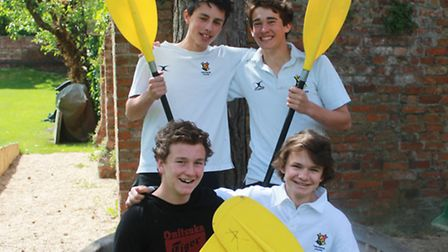William-Ross Anderson, James Battishill, Henry Morshead and Alex de Wesselow