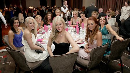 Chloe White, Lauren Dalglish and friends