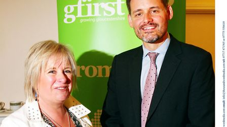 Diane Savory and David Owen, from GFirst LEP