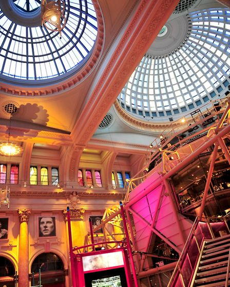 Interior of the Royal Exchange Theatre in St Ann's Square