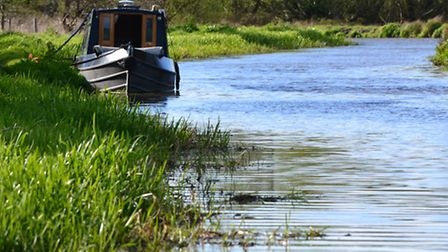 Boating on the River Wey