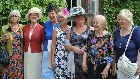 Joyce Pears, Glenice Harris, Milly Williams, Kath Astbury, Phyl Sproston, Anne Hewitt and Pat Hough.