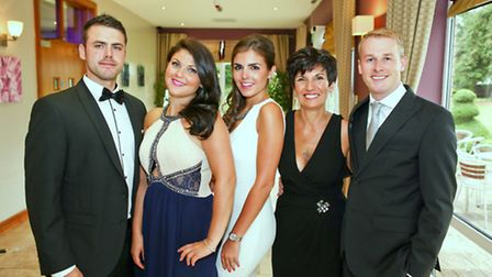 Luke Williams, Sara Cope, Anna Curtis, Teresa Cope and Paul Curtis. Teresa is the widow of Anthony C