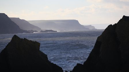 The view from Hartland Quay