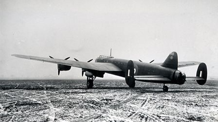 The prototype Lancaster bomber was first tested at Ringway in 1941