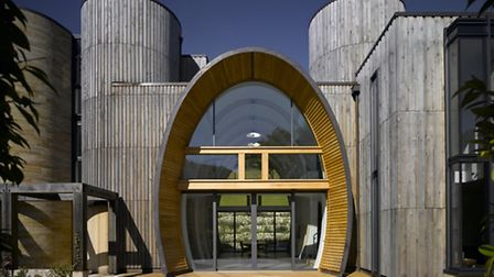 The magnificent foudre is at the heart of the design